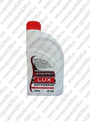 антифриз Sintek LUX S-12 красный 1л