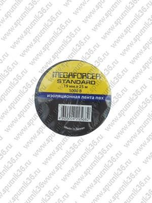изолента MEGAFORCER standart черная 20